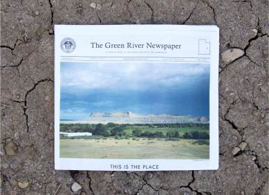 The Green River Newspaper, Epicenter